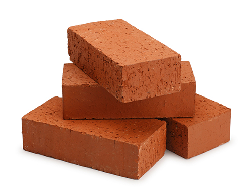 A photo of bricks