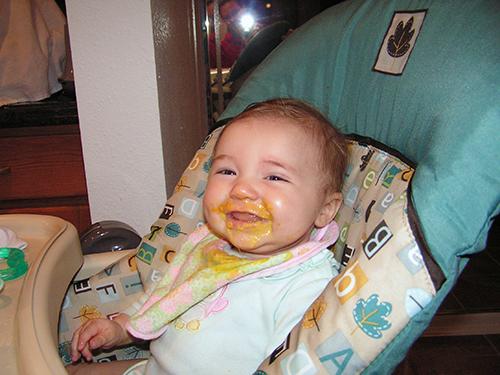 Fiona eats egg yolks