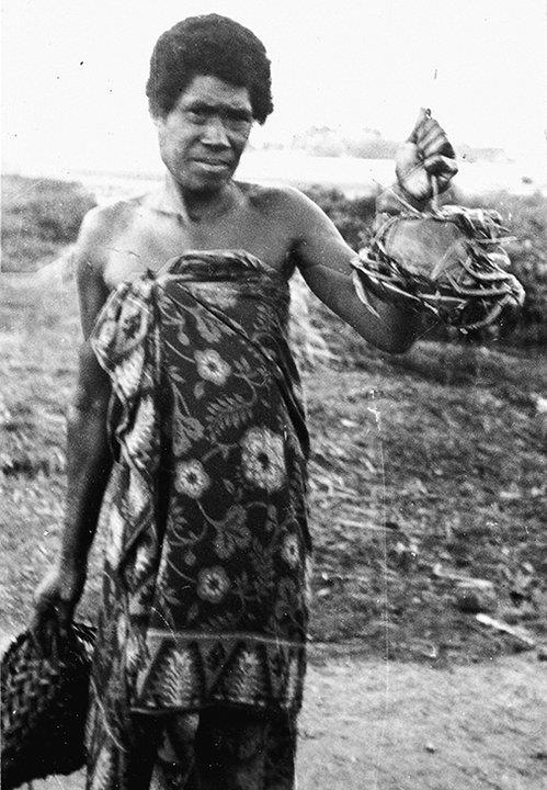 Dr. Price's photo of a woman in Fiji