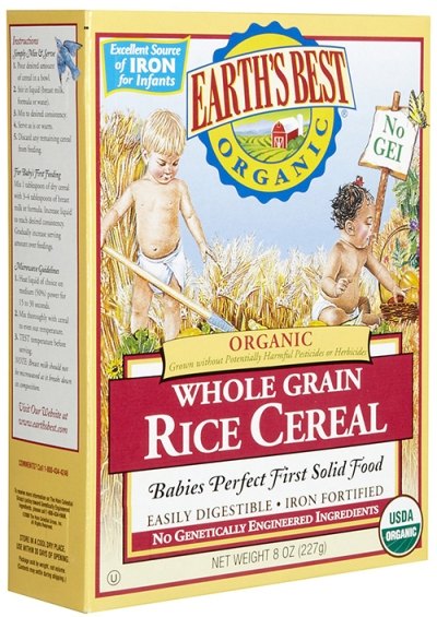Photo of Organic Rice Cereal