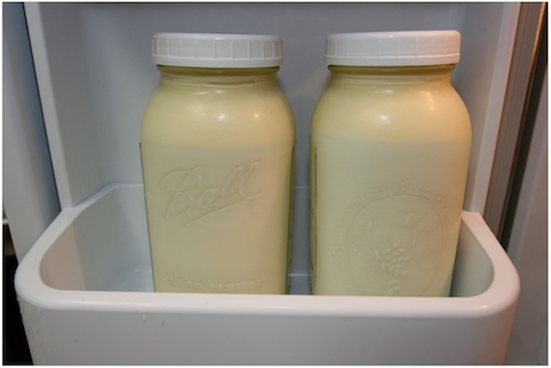 Photo of Whole, Raw Milk