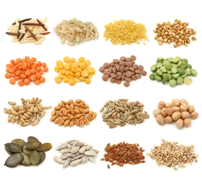 Grains Chart