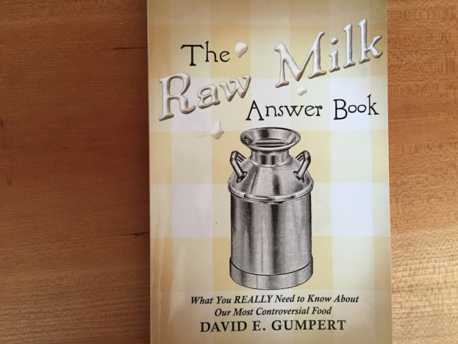 Raw Milk Answer Book Cover