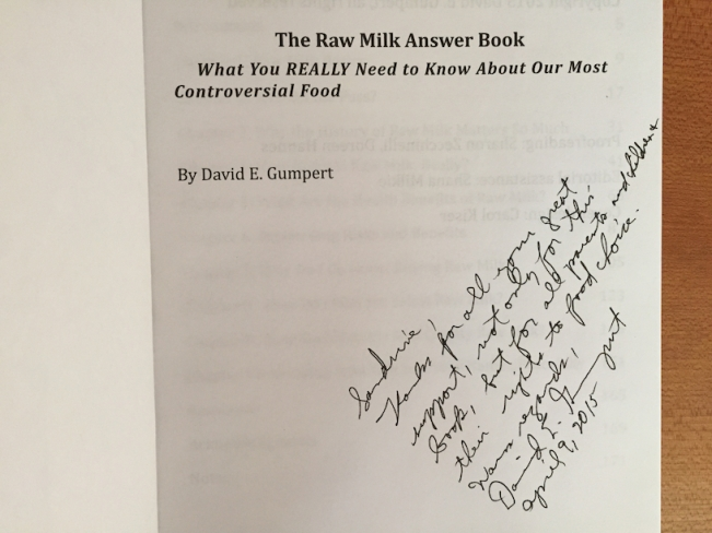 Raw Milk Answer Book Inside
